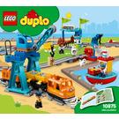 LEGO Cargo Train Set 10875 Instructions