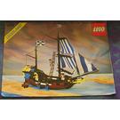 LEGO Caribbean Clipper Set 6274 Instructions