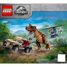 LEGO Carnotaurus Dinosaur Chase Set 76941 Instructions
