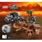 LEGO Carnotaurus Gyrosphere Escape Set 75929 Instructions
