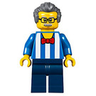 LEGO Carousel Ticket Booth Man Minifigure