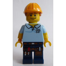 LEGO Carpenter Minifigure