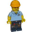 LEGO Carpenter Minifigure