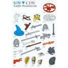 LEGO Castle Accessories Set 5135