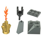LEGO Castle Advent Calendar Set 7979-1 Subset Day 11 - Fire and Crystal