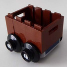 LEGO Castle Advent Calendar Set 7979-1 Subset Day 12 - Container on Wheels