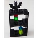LEGO Castle Advent Calendar Set 7979-1 Subset Day 16 - Shelving with Bat