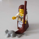 LEGO Castle Advent Calendar Set 7979-1 Subset Day 18 - Maid with Broom and Rat