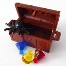 LEGO Castle Advent Calendar Set 7979-1 Subset Day 23 - Treasure Chest with Spider