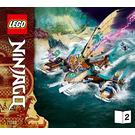 LEGO Catamaran Sea Battle Set 71748 Instructions