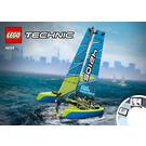 LEGO Catamaran Set 42105 Instructions