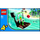 LEGO Catapult Raft Set 7070 Instructions