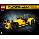 LEGO Caterham Seven 620R Set 21307 Instructions
