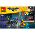 LEGO Catwoman Catcycle Chase Set 70902 Instructions