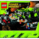 LEGO Cave Crusher Set 8708 Instructions