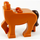LEGO Centaur legs with dark brown tail