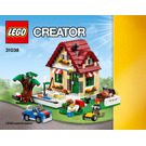 LEGO Changing Seasons Set 31038 Instructions
