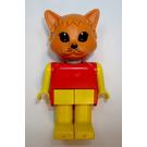 LEGO Charlie Cat Fabuland Minifigure