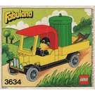 LEGO Charlie Crow's Carry-All Set 3634 Instructions
