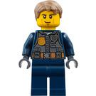 LEGO Chase McCain, Dark Blue Uniform Minifigure