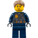 LEGO Chase McCain with Dark Blue Uniform Minifigure