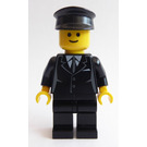 LEGO Chauffeur Minifigure with Side Lines
