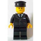 LEGO Chauffeur Minifigure without Side Lines