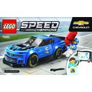 LEGO Chevrolet Camaro ZL1 Race Car Set 75891 Instructions