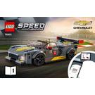 LEGO Chevrolet Corvette C8.R Race Car and 1968 Chevrolet Corvette Set 76903 Instructions