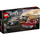 LEGO Chevrolet Corvette C8.R Race Car and 1968 Chevrolet Corvette Set 76903 Packaging