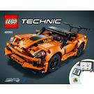 LEGO Chevrolet Corvette ZR1 Set 42093 Instructions