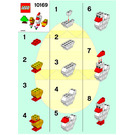 LEGO Chicken & Chicks Set 10169 Instructions