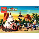 LEGO Chief's Tepee Set 6746 Instructions
