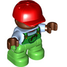 LEGO Child Figure with Cap Boy Duplo Figure