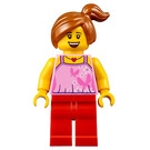 LEGO Child with Bright Pink Top Minifigure