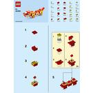 LEGO Chinese Dragon Set 40395 Instructions