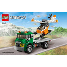 LEGO Chopper Transporter Set 31043 Instructions