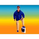 LEGO Christian in Blue Blazer Set 3103