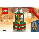 LEGO Christmas Carousel Set 40293 Instructions