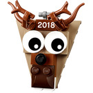 LEGO Christmas Ornament 2018 - Reindeer Head (5005253)