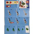 LEGO Christmas Scene Magnet (853353) Instructions