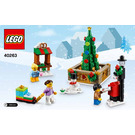 LEGO Christmas Town Square Set 40263 Instructions