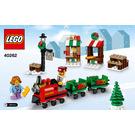 LEGO Christmas Train Ride Set 40262 Instructions