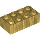 LEGO Chrome Gold Brick 2 x 4 (72841)
