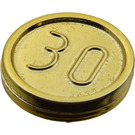 LEGO Chrome Gold Coin with 30 (70501)