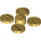 LEGO Gold Coin Set (4 Pieces on Sprue) (70501)