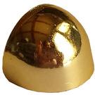 LEGO Chrome Gold Minifig Helmet Visor Space (71016)