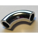 LEGO Chrome Silver Curved Pipe 1.33 (71076)