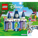 LEGO Cinderella's Castle Celebration Set 43178 Instructions