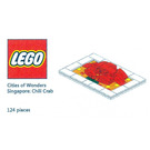 LEGO Cities of Wonders - Singapore: Chilli Crab Set COWS-4